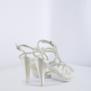 Sandalo Tacco Alto Linea Sposa