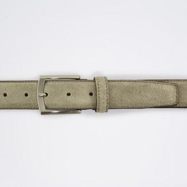 Cintura in Camoscio Grigio