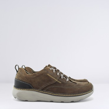Sneaker Charton Mix Col. Marrone