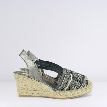 Sandalo Espadrillas Multicolore