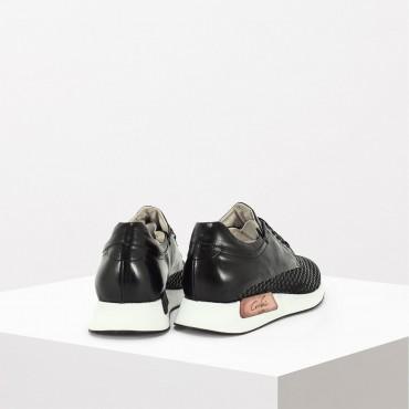 Sneaker Intreccio Col. Nero
