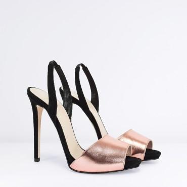 Sandalo Alto Ricci Shop Chantal ColRame nwOPk80