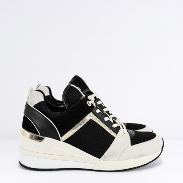 89542bd120 Sneaker Georgie Trainer Col. Nero MICHAEL KORS - RICCI SHOP