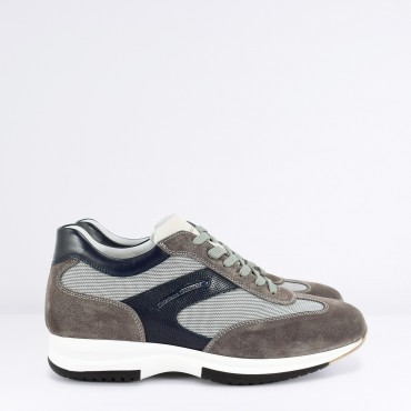 CRISTIANO GUALTIERI Sneaker Camoscio Col. Grigio