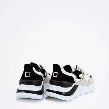 Sneaker Donna Fuga Animalier Zebra