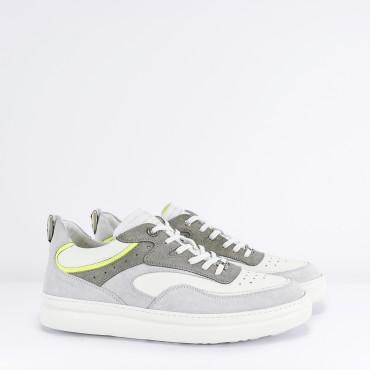 Sneaker Col. Bianco Grigio