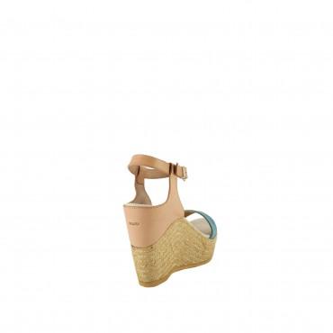 Sandalo Tacco Alto Corda