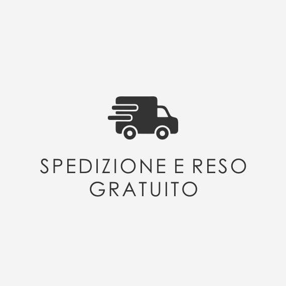 SPEDIZIONE E RESO GRATUITO